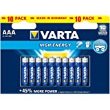 Varta High Energy AAA 10 pack