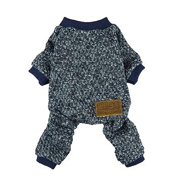 Amazon.com: Ropa térmica para pijamas de perro ...