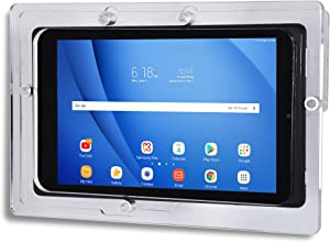 """TABcare Security Anti-Theft Acrylic VESA Case for Lenovo 10"""" Tablet with Wall Mount Kit (Clean, Smart TAB P10 M10)"""