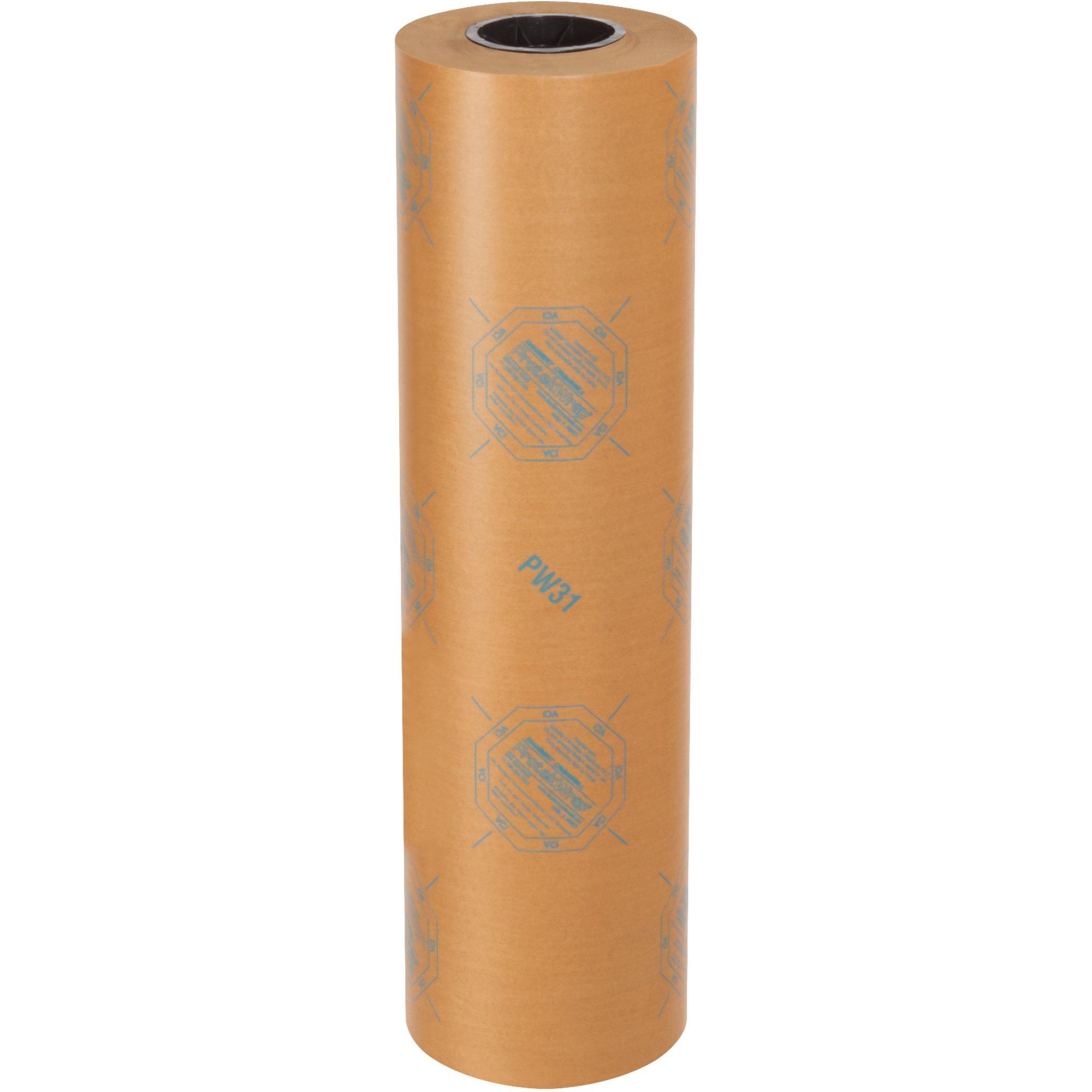 Aviditi VCI24WAX 30# VCI Paper Waxed Industrial Roll, 24'' x 200 yd