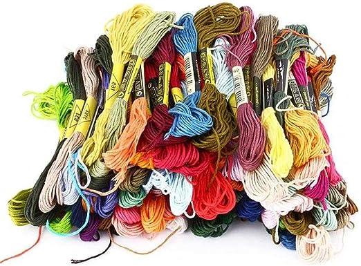Ogquaton 50 madejas Trenzadas CXC 100% Hilo de algodón Adecuado ...
