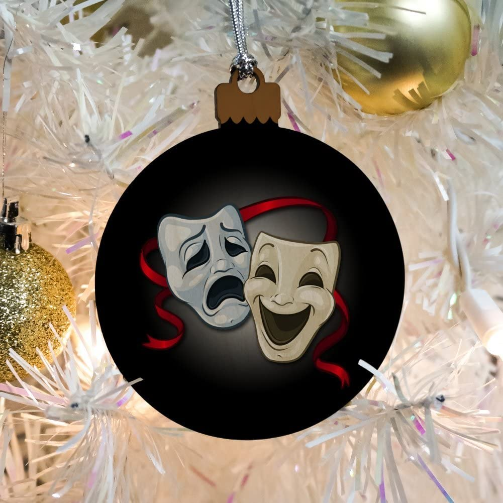 NEW Drama Theatre Masks Christmas Ornament OR1801
