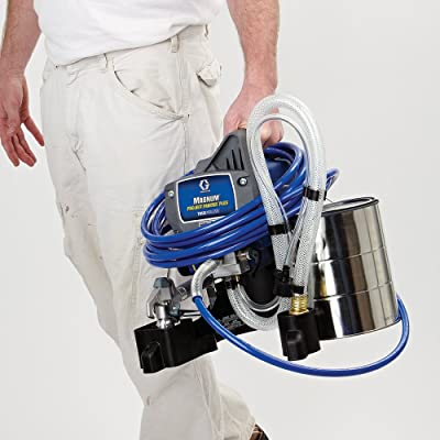 Graco Magnum Project Painter Plus Paint Sprayer 257025 is one of the top performing paint sprayers in the market.