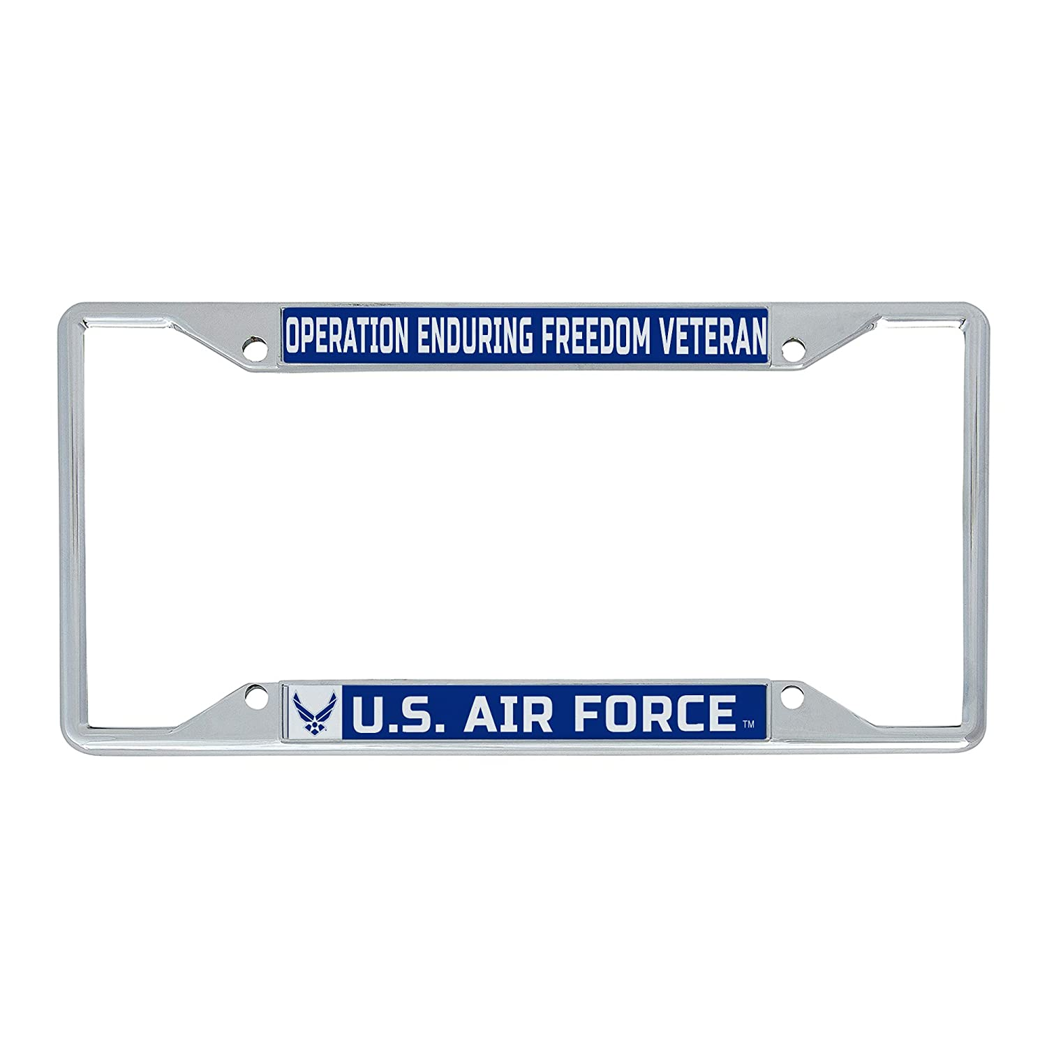 Frame - Wife Desert Cactus US Air Force Wife License Plate Frame for Front Back of Car Officially Licensed United States