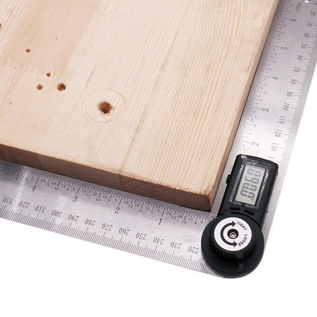con goniometro ad angolo Righello di ricerca angolare in acciaio inossidabile