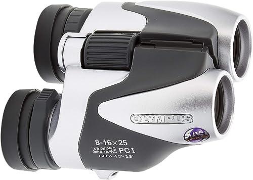 Olympus Tracker 8-16×25 Zoom Porro Prism Compact Lightweight Binocular