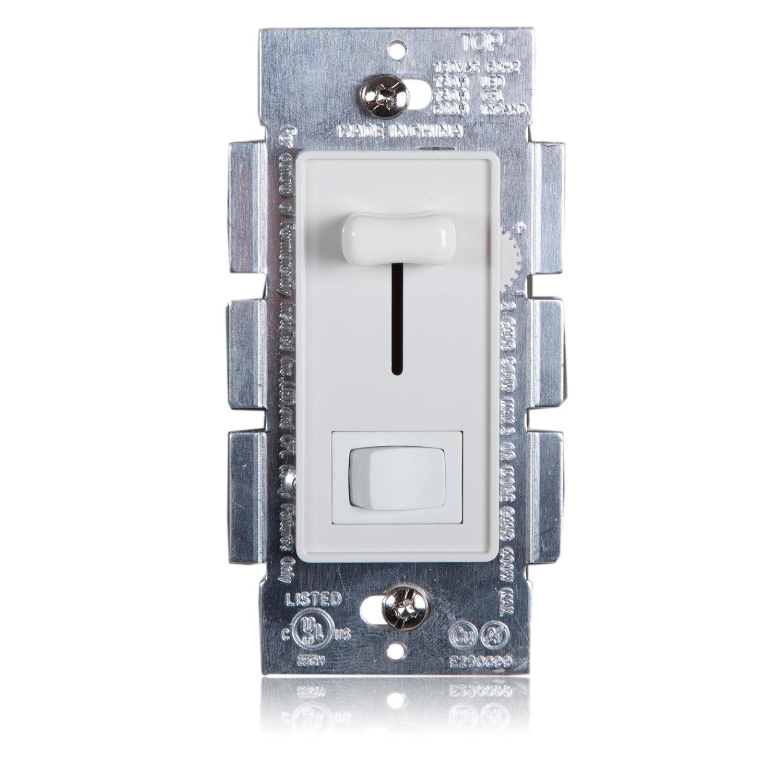Maxxima 3-Way/Single Pole Dimmer Electrical light Switch 600 Watt ...