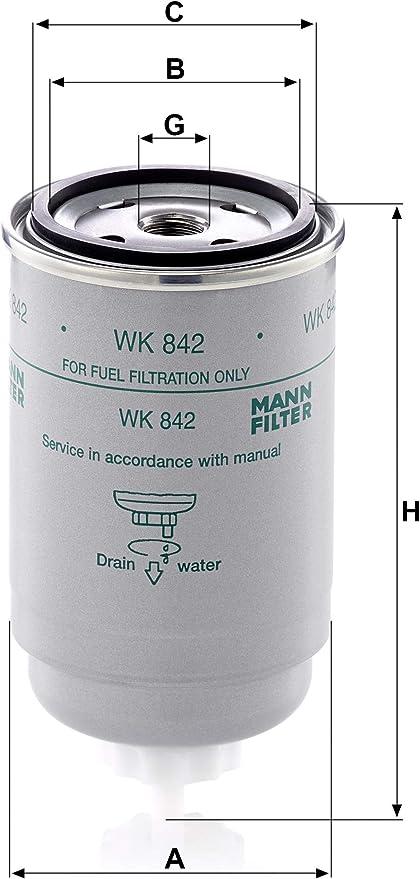 Kraftstoffilter 100 Mann Filter WK 31//2