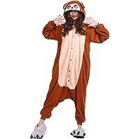 DarkCom Adulte Onesies Femmes Pyjama Grenouillère Moelleux Kigurumi Costumes d'halloween Combinaison
