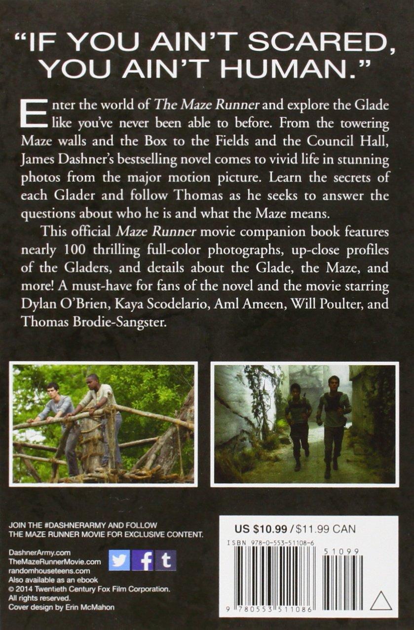 Amazon.com: Inside the Maze Runner: The Guide to the Glade (9780553511086):  Random House: Books