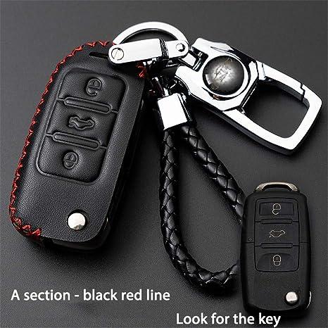 Car Remote Key Case Cover Cartera Llavero para El VW Polo ...