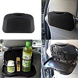 TRIXES Klappbarer Tisch für den Rücksitz im Auto mit Getränkehalter