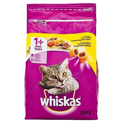 Whiskas - 350 gr. burritos de pollo seco reparación ieni comida para gatos