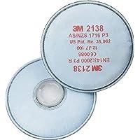 3 M 2138 Filtro de partículas de bayoneta (Pack de 2)