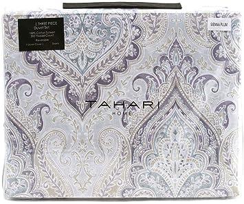 Amazon.com: Tahari Home - Juego de cama de 3 piezas, diseño ...