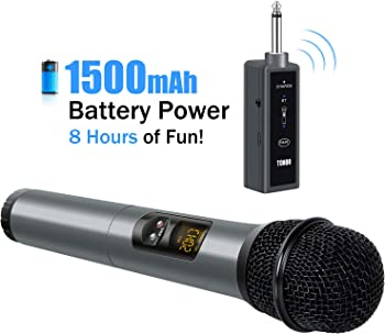 Tonor TN-66BL UHF Wireless Handheld Mic with Bluetooth Receiver