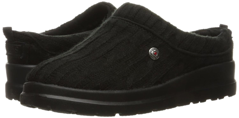 Skechers Bobs from Women's Cherish Bob-Sled Slipper, Black/Black, 5 M US