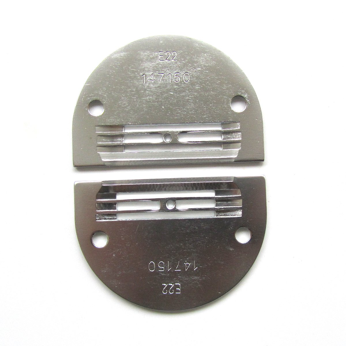 kunpeng - Industrial máquina de coser Aguja Placa 147150lgw - Luz a mediano para Brother Juki 2 pcs: Amazon.es: Hogar