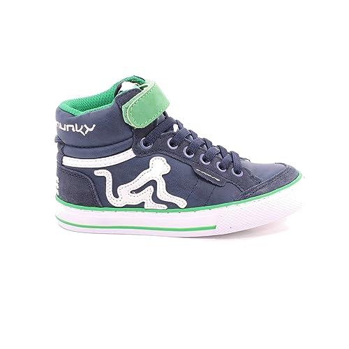 Sneakers verdi con chiusura velcro per unisex 98Qey
