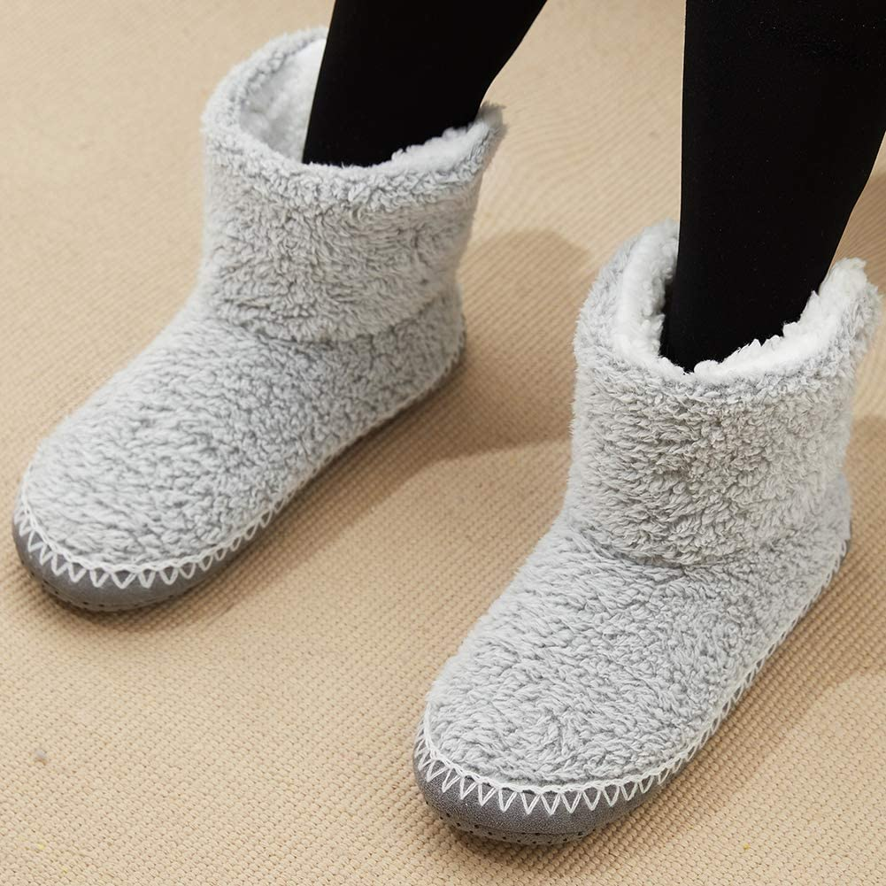 MaaMgic Women Girls Slipper Premium Soft Home Non-Slip Winter Extra Warm Thermal Knitted Shoes