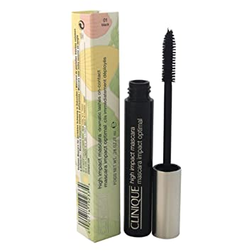 8409425b68f Amazon.com : Clinique High Impact Mascara, 01 Black .28 oz / 7 mL : Womens  Cologne : Beauty