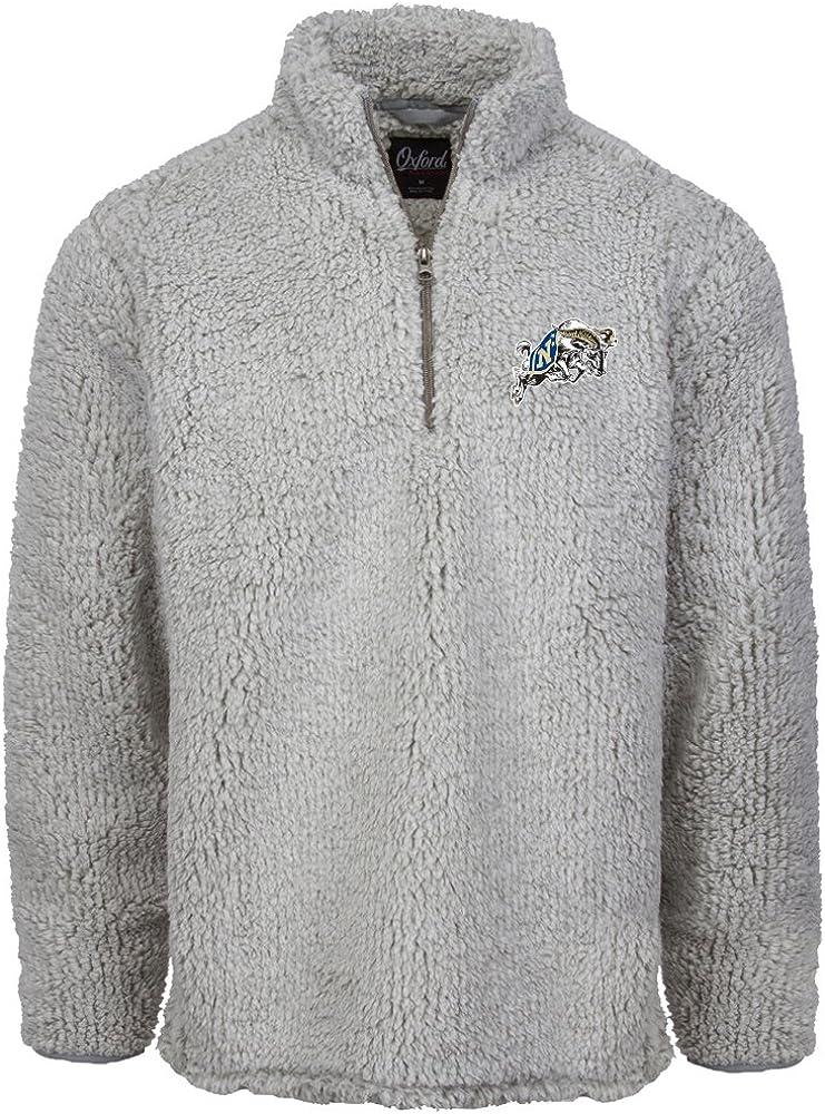 Oxford Adult Men Owen /¼ Zip Heather Sherpa Pullover
