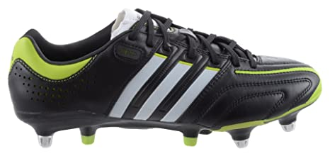 sports shoes abd87 cf381 Adidas - Adipure 11PRO Xtrx SG - V23653 - Colore Bianco-Nero-Verde