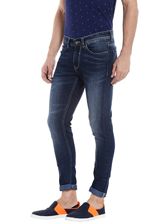 Spykar Men's Super Skinny Fit Jeans