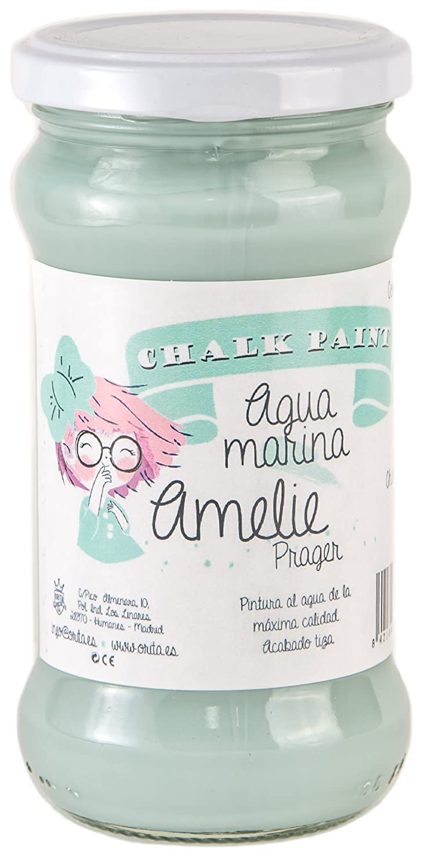 Amelie Prager 280-15 Pintura a la Tiza, Aguamarina, 280 ml