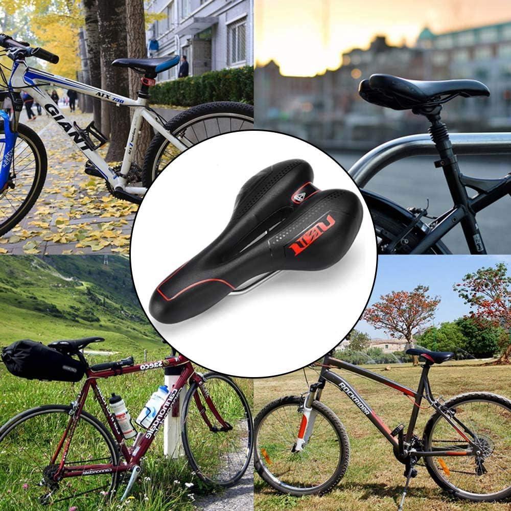 Asiento De Bicicleta De Gel, El Sillín De Bicicleta Más Cómodo ...