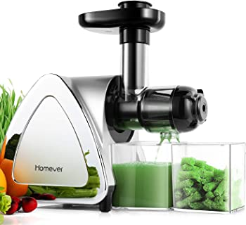 Homever Juicer Machine Slow Masticating Juicer