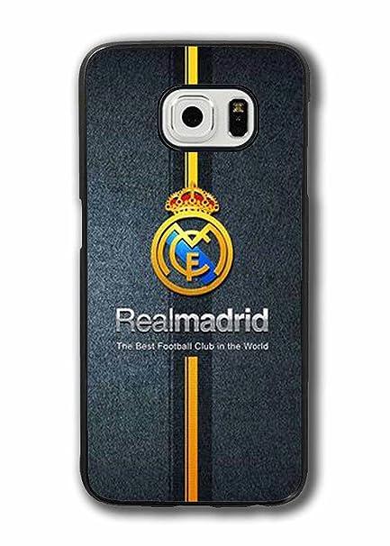 Funda para Samsung Galaxy S6, Real Madrid Football Team Logo ...