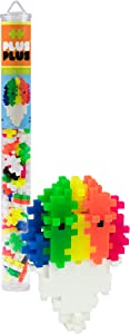 PLUS PLUS – Mini Maker Tube – Snow Cone – 70 Piece, Construction Building Stem | Steam Toy, Interlocking Mini Puzzle Blocks for Kids
