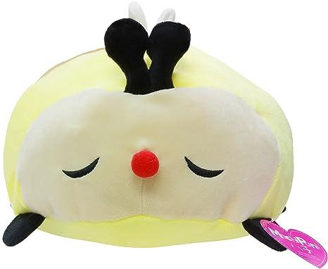 Nihon Auto Toy Super Cute and Soft Japanese Mochipuni Stuffed Plush Animal  Series (Bee)