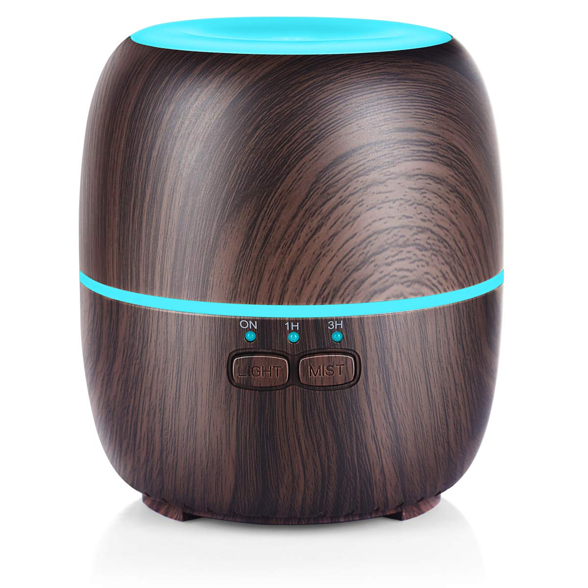 URPOWER Essential Oil Diffuser, 230ml Diffusers for Essential Oils Super Quiet Wood Grain Aromatherapy Oil Diffuser Essential Oils with Adjustable Mist Mode, 7 Color LED Lights for Home Yoga Office by URPOWER