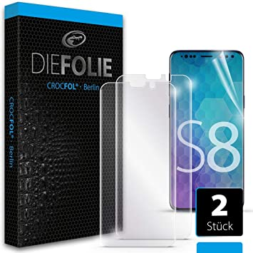 Samsung Galaxy S8: Casefit Screen Protector (2 Pack) DIEFOLIE ...