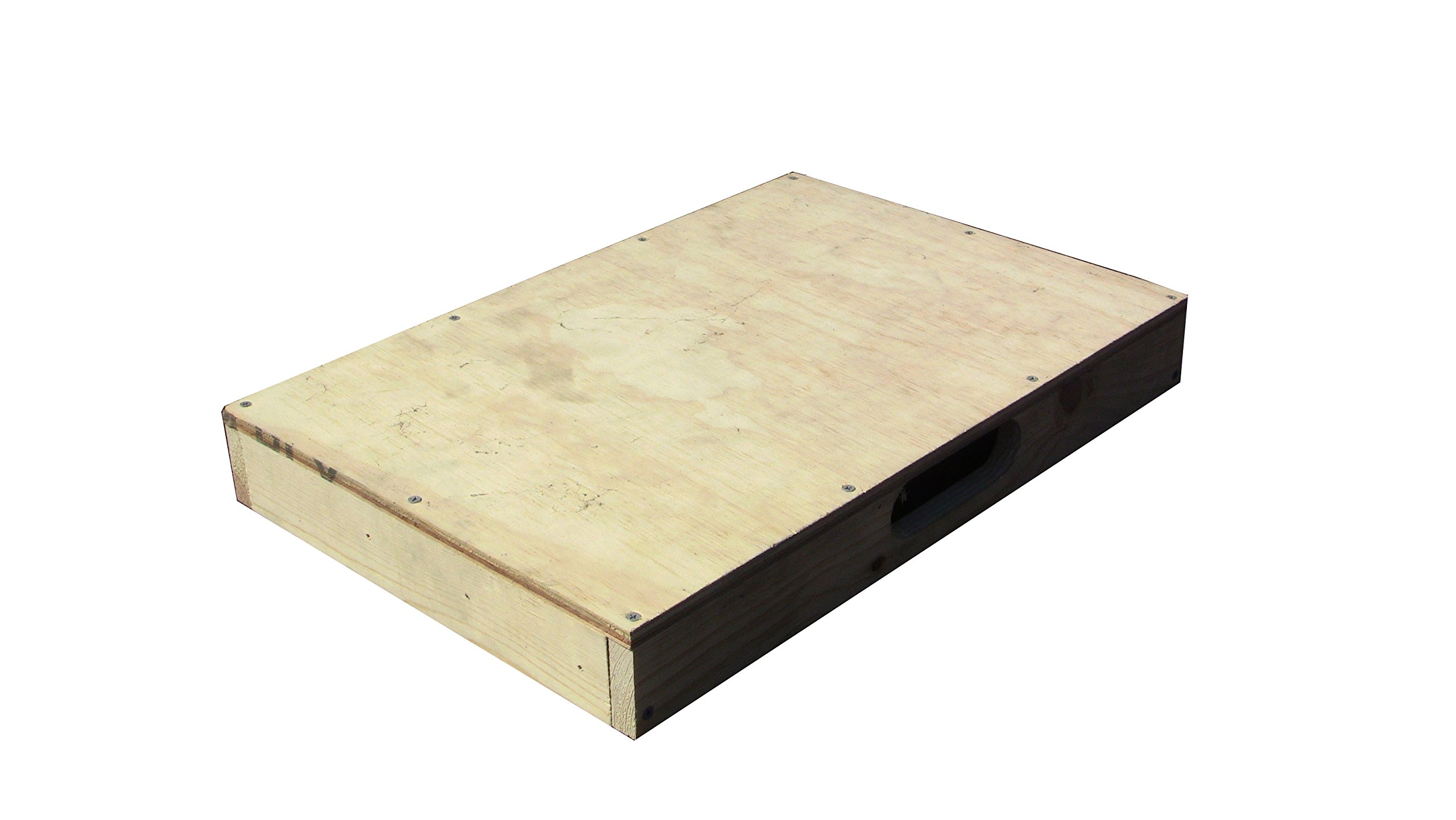 Dance Board Standard for Clogging Tap Flat Footing w/handle 3 x 24 x 16 in. by ASPS
