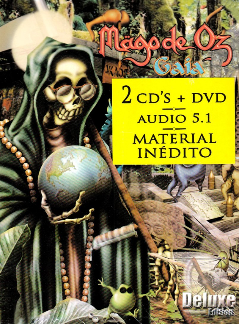 Gaia (W/Dvd) (Dlx) (Dig)                                                                                                                                                                                                                                                                                                                                                                                                <span class=