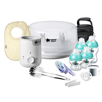 Complete Feeding Set Tippee Tommee Closer Nature Anti Colic New Advanced Black