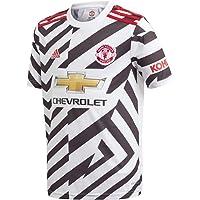 adidas Manchester United Temporada 2020/21 MUFC 3 JSY Y Camiseta Tercera equipación Niños