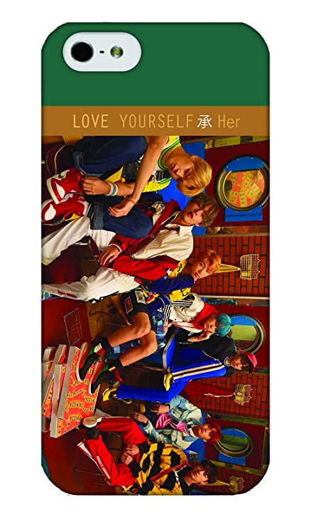 Bts Phone Case For Iphone Love Yourself Her Bangtan Boys Group 5