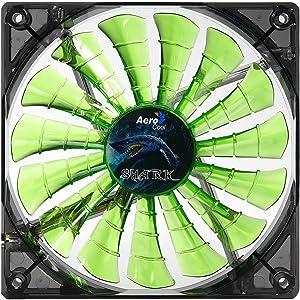 AeroCool Shark 140mm Green Cooling Fan EN55703