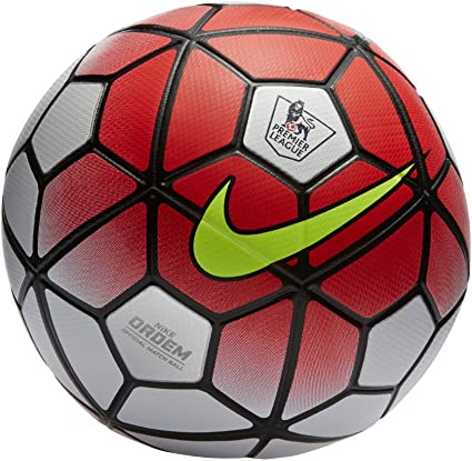 Nike Ordem 3 Premier League Official Match Soccer Ball by Nike ...
