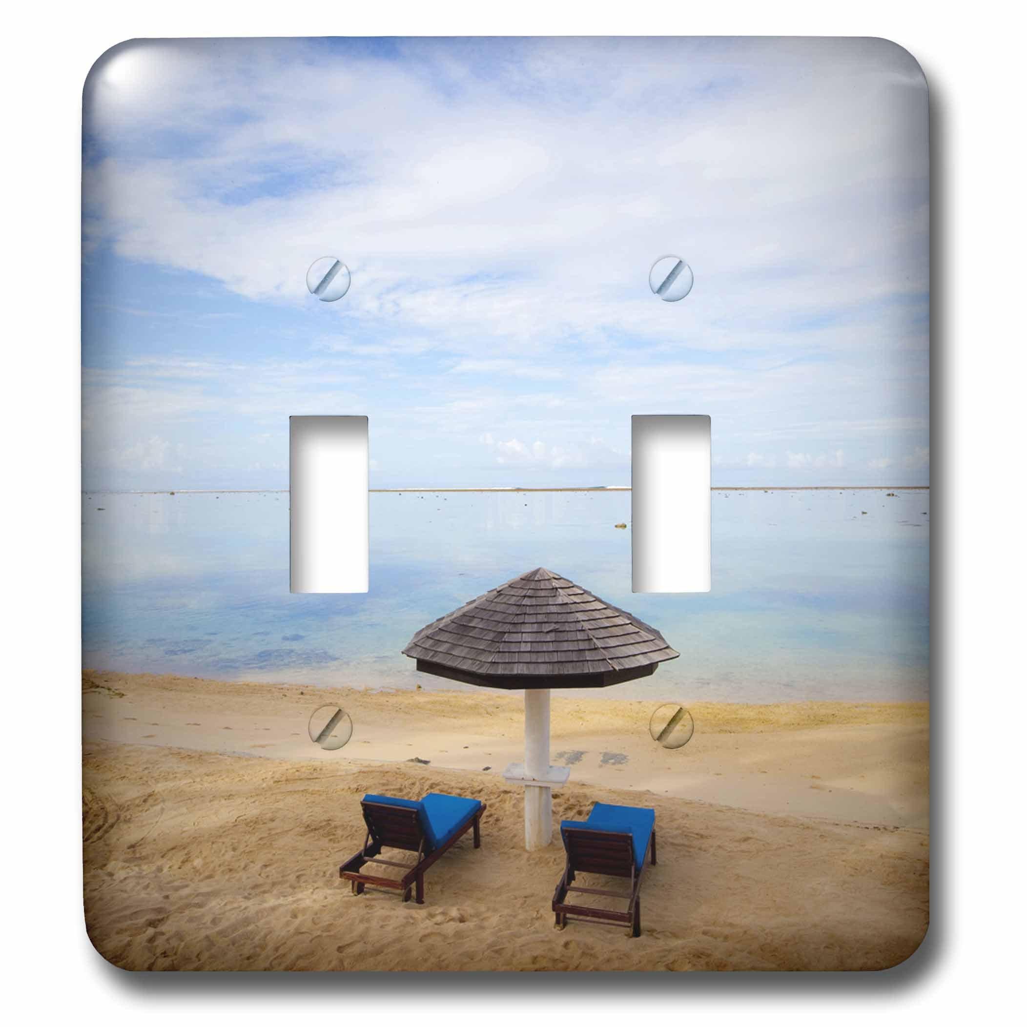 3dRose lsp_84827_2 Warwick Fiji Resort and Spa, Travel, Fiji Oc01 Dpb0248 Douglas Peebles Double Toggle Switch