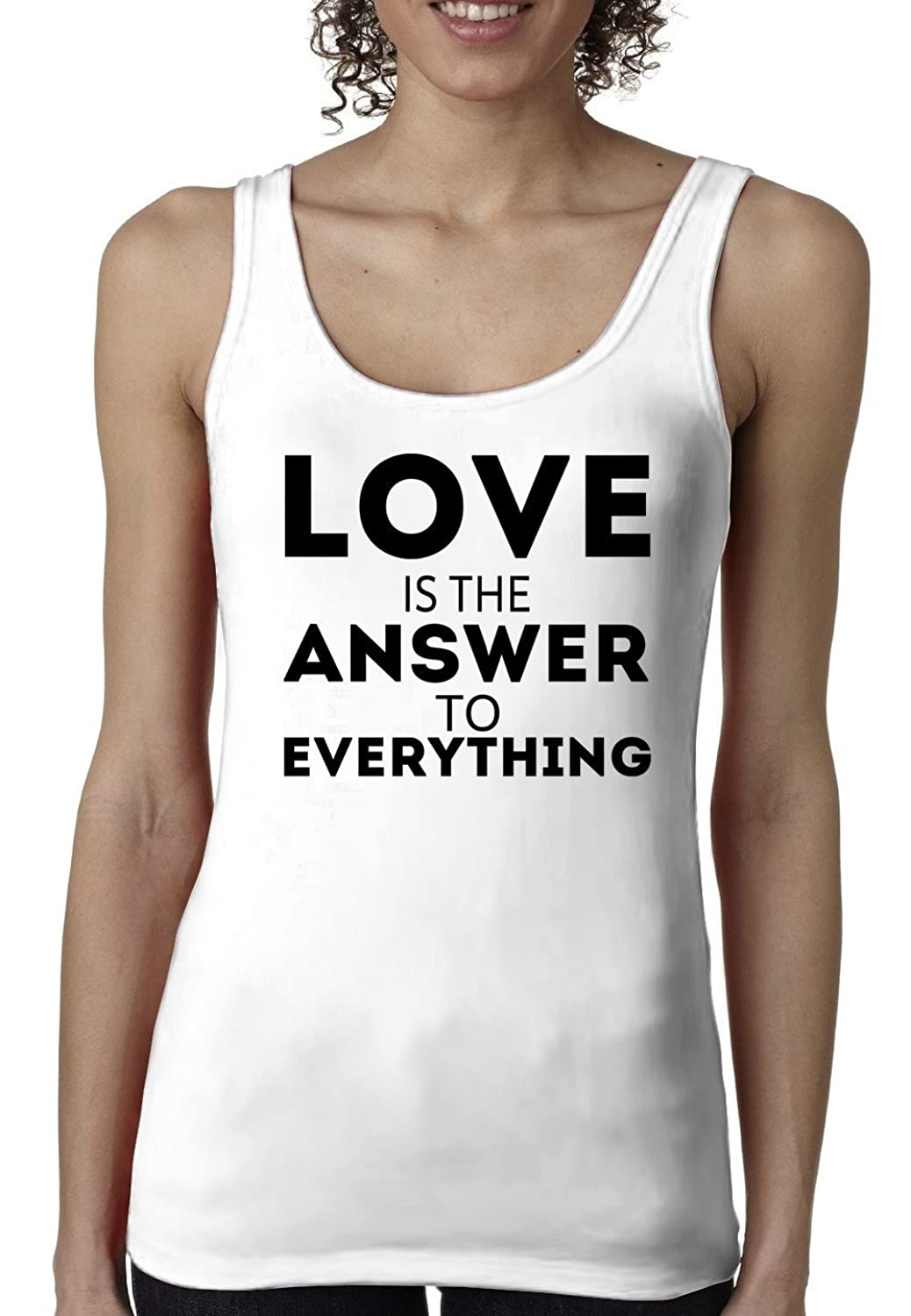 Prince EA Women's Love is the Answer to Everything Tank-top