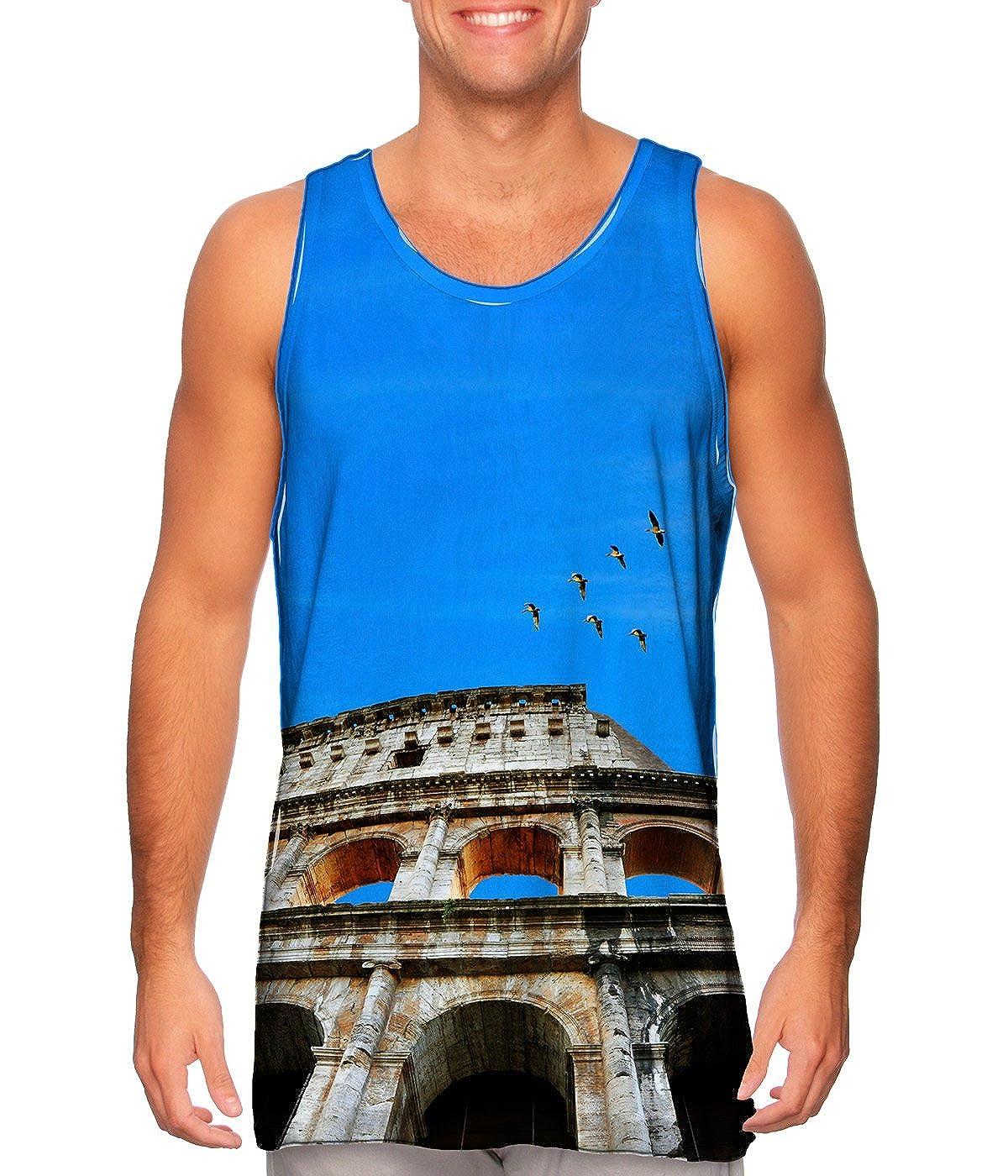 Mens Tank Top Yizzam Roman Colosseum TShirt
