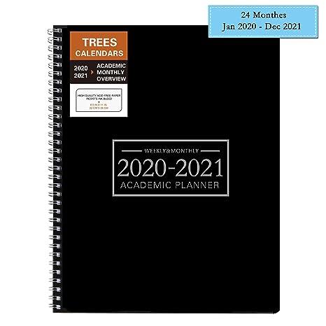 Amazon.com: Planificador de calendario semanal y mensual de ...