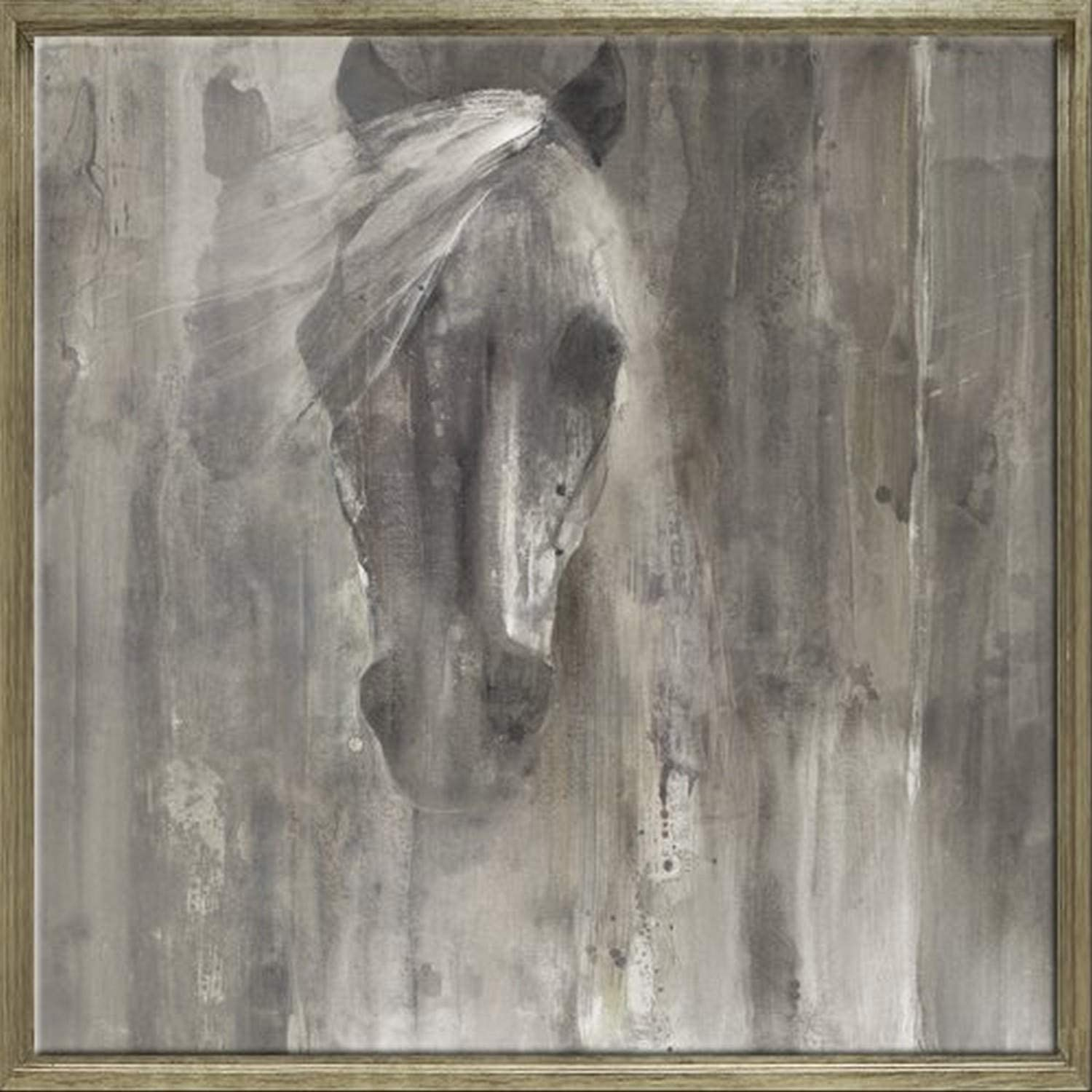 Looking Back by Albena Hristova Animal Horse Contemporary Print Poster 24x36