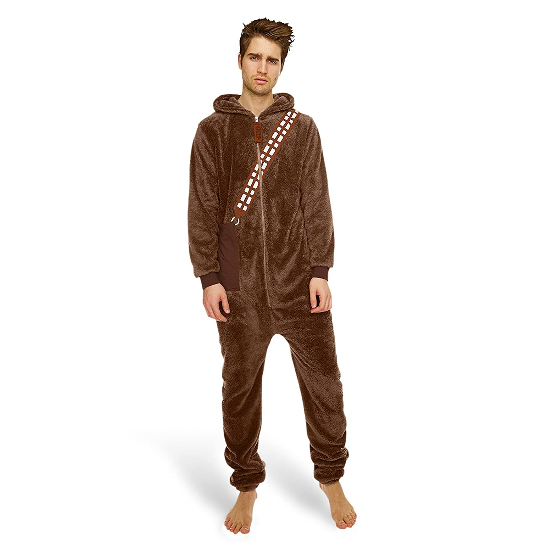 Star Wars - Chewbacca Jumpsuit - Onesie Leisure Suit Pyjama Costume ...