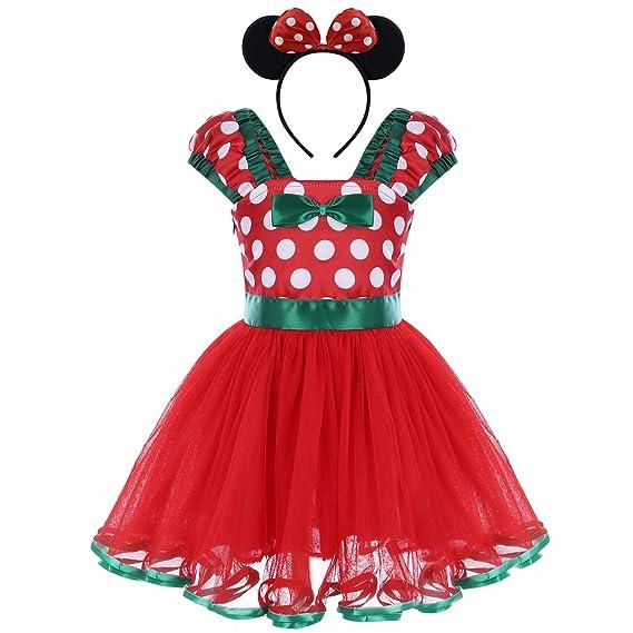 8ea6159dd FYMNSI Toddler Kids Baby Girls Polka Dot Tutu Dress Birthday Party ...